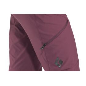 Black Diamond Alpine Naiset Pitkät housut , punainen